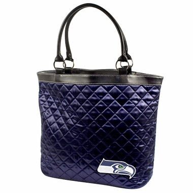 Seattle Seahawks Quilted Tote
