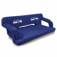 Seattle Seahawks Reflex Travel Couch (Navy)