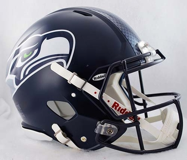 Seattle Seahawks Riddell Full Size Authentic Revolution Helmet