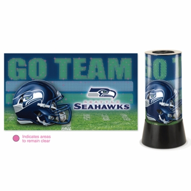 Seattle Seahawks Rotating Lamp