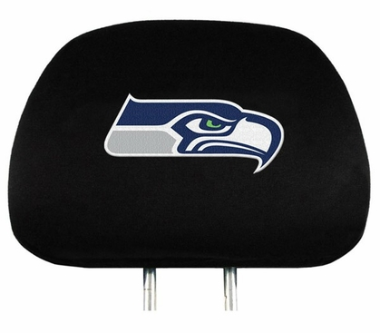 Seattle Seahawks Set of Headrest Covers