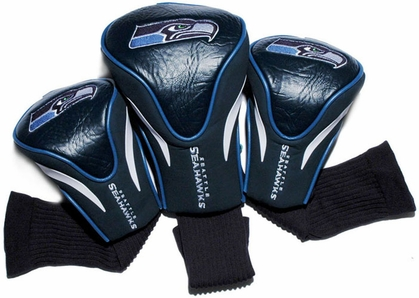 Seattle Seahawks Set of Three Contour Headcovers