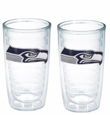 Seattle Seahawks Set of TWO 16 oz. Tervis Tumblers