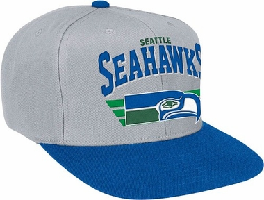 Seattle Seahawks Stadium Throwback Snapback Hat