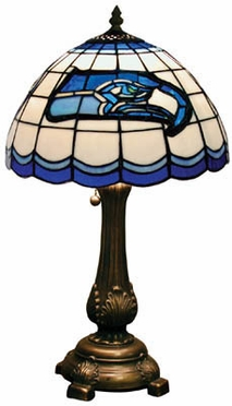 Seattle Seahawks Stained Glass Table Lamp