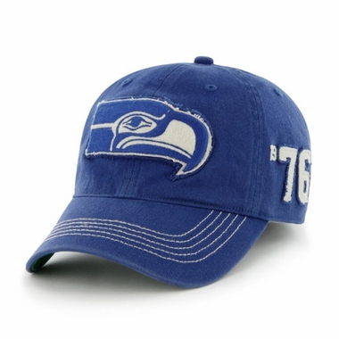Seattle Seahawks Throwback Badger Franchise Flex Fit Hat