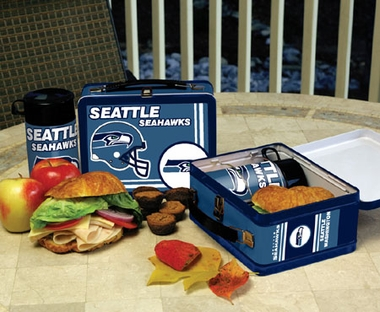 Seattle Seahawks Tin Lunch Box