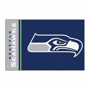 Seattle Seahawks Uniform Inspired 20 x 30 Rug