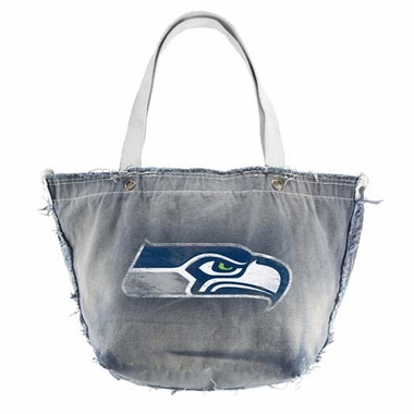 Seattle Seahawks Vintage Tote (Denim)
