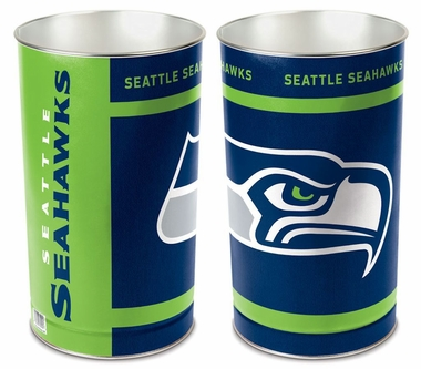 Seattle Seahawks Waste Basket