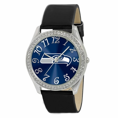 Seattle Seahawks Women's Glitz Watch