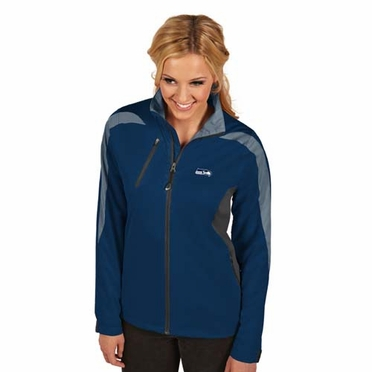 Seattle Seahawks Womens Discover Jacket (Team Color: Navy)