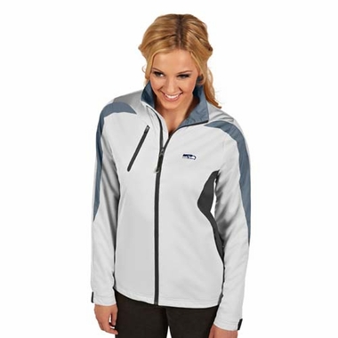 Seattle Seahawks Womens Discover Jacket (Color: White)