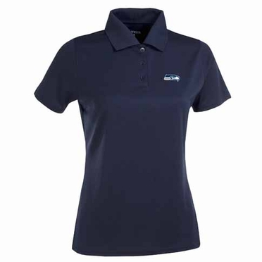 Seattle Seahawks Womens Exceed Polo (Team Color: Navy)