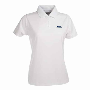 Seattle Seahawks Womens Exceed Polo (Color: White)