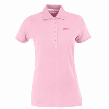 Seattle Seahawks Womens Spark Polo (Color: Pink)