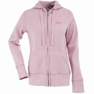 Seattle Seahawks Womens Zip Front Hoody Sweatshirt (Color: Pink)