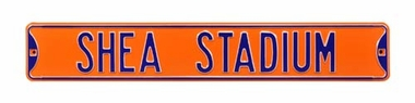 Shea Stadium Orange Street Sign