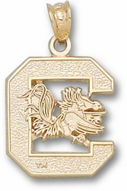 South Carolina 14K Gold Pendant