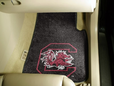 South Carolina 2 Piece Car Mats