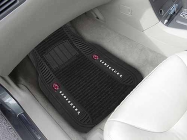 South Carolina 2 Piece Heavy Duty DELUXE Vinyl Car Mats