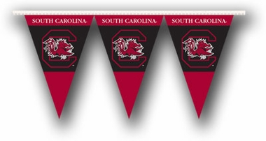 South Carolina 25 Foot String of Party Pennants (P)