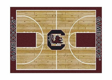 "South Carolina 3'10"" x 5'4"" Premium Court Rug"