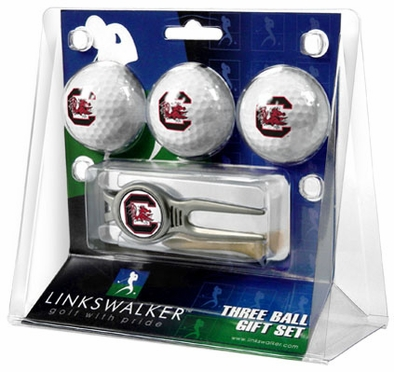 South Carolina 3 Ball Gift Pack With Kool Tool