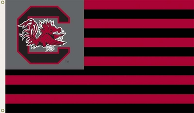 South Carolina 3' x 5' Flag (Stripes) (F)