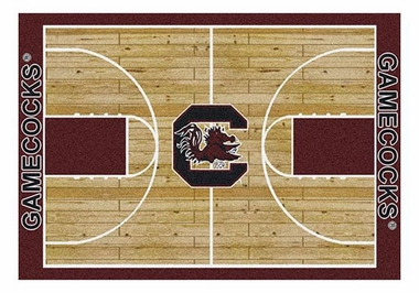 "South Carolina 5'4"" x 7'8"" Premium Court Rug"