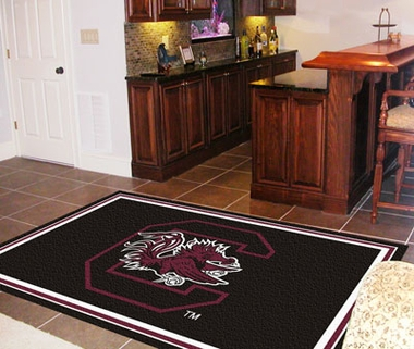 South Carolina 5 Foot x 8 Foot Rug