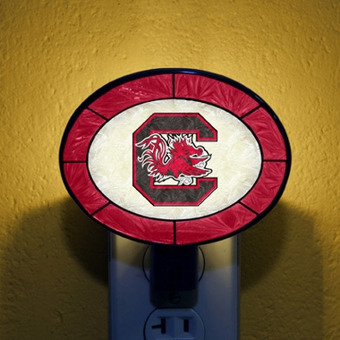 South Carolina Art Glass Night Light