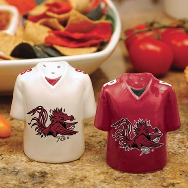 South Carolina Ceramic Jersey Salt and Pepper Shakers