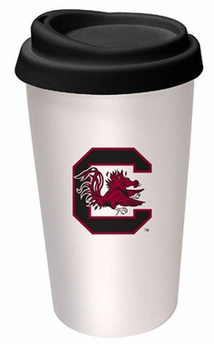 South Carolina Ceramic Travel Cup