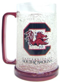 South Carolina Gamecocks Crystal Freezer Mug