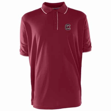South Carolina Mens Elite Polo Shirt (Team Color: Maroon)
