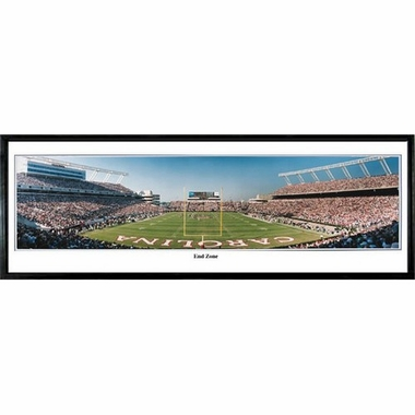 South Carolina End Zone Framed Panoramic Print