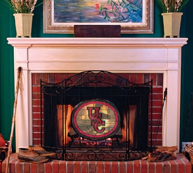 South Carolina Fireplace Screen