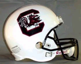 South Carolina Gamecocks Riddell Deluxe Replica Helmet