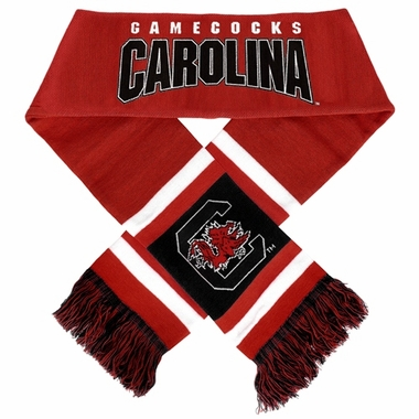 South Carolina Gamecocks 2012 Team Stripe Knit Scarf