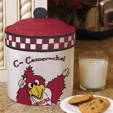 South Carolina Gameday Ceramic Cookie Jar