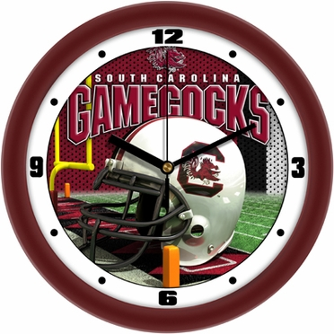 South Carolina Helmet Wall Clock
