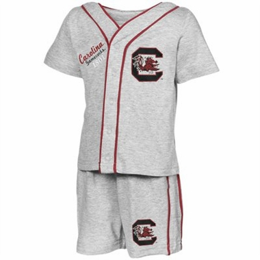 South Carolina Infant Batter Up Shirt & Shorts Set