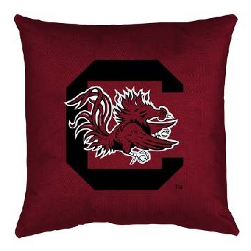 South Carolina Jersey Material Toss Pillow