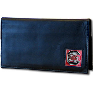 South Carolina Leather Checkbook Cover (F)