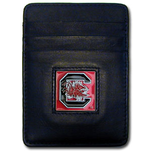 South Carolina Leather Money Clip (F)