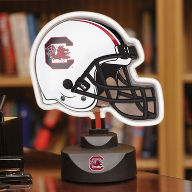 South Carolina Neon Display Helmet