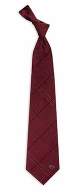South Carolina Oxford Stripe Woven Silk Necktie