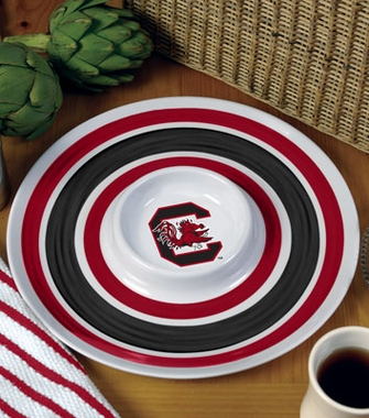 South Carolina Plastic Chip and Dip Plate