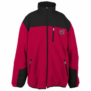 South Carolina Poly Dobby Full Zip Polar Fleece Jacket